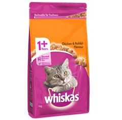 <p><span>WHISKAS<sup>®</sup> Adult </span><br /><span>1+ Years</span></p>