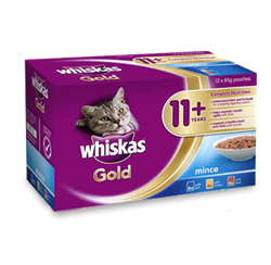 WHISKAS® Gold11+ Years