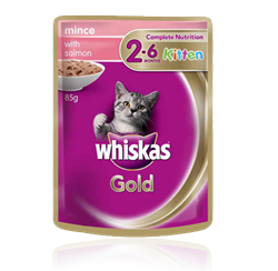 WHISKAS® Gold Kitten 2-12 Months
