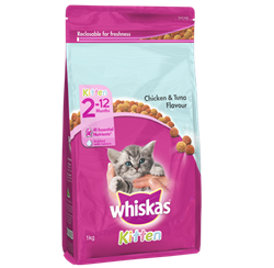 WHISKAS® Kitten2-12 Months