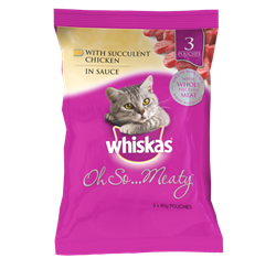 WHISKAS® Oh So… Meaty™