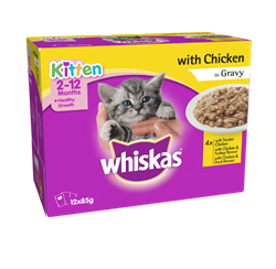 WHISKAS® Kitten 2-12 Months