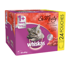 WHISKAS® So Meaty