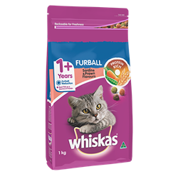 WHISKAS® Adult 1+ Years Furball
