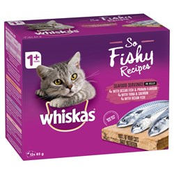 WHISKAS® So Fishy Recipes